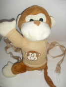 Monkey Child Safety Harness Leash Backpack
