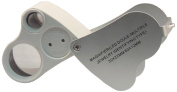 BlueDot Trading 2 in 1 30 x 60x Magnified Jewellers Loupe