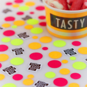 Ginger Ray Neon Fluorescent Happy Birthday Table Party Confetti - Neon Birthday