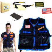 Magecraft Elite Tactical Vest Kit for Nerf N-strike Elite Series ,Nerf Super Soaker Series