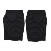 1 Pair Padded Sport Ski Volleyball Knee Guard Support Protector Brace Wrap Pads Gurad