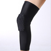 Pardus™ Strengthen Extended Compression Crashproof Antislip Basketball Leg Sleeve with Honeycomb Pad Protective Pad