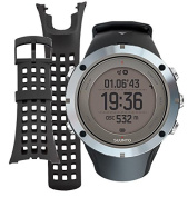 Suunto Ambit3 Peak GPS Sapphire Watch,One Size,Sapphire with Spare Replacement Band Bun