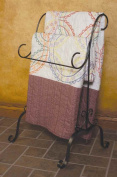 J & J Wire Quilt Holder, Dark Pewter