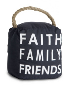 Pavilion Gift Company 72159 Faith Family Friends Door Stopper, 13cm by 15cm