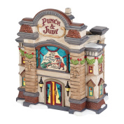 Department 56 Dickens Village Punch & Judy Theatre Lighted Building