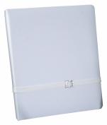 Ivy Lane Design Glamour Wedding Memory Book, White