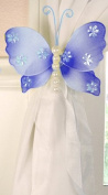 The Butterfly Grove Isabella Butterfly Curtain Tieback, Hawaiian Blue, Small, 13cm x 10cm