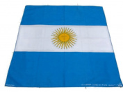 50x50 cm Argentina Handkerchief Cotton pocket square Hanky Bandana Scarf Hankie Headband World Cup Flag Argentina