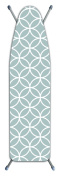 Laundry Solutions by Westex Deluxe Extra Thick Circles Ironing Board Cover, Grey