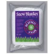 BUFFALO BATT & FELT CB1166 Snow Blanket for Christmas Decoration, 110cm by 250cm
