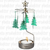 Christmas Tree Rotary Candleholder