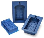 Doctor Who Tardis Gelatin/Cake 2-Piece Mould Set