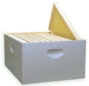Mann Lake HK190 Assembled 10-Frame Hive Kit, Painted Wood-Frames, 24cm