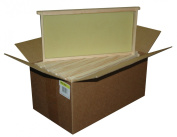 Mann Lake WW906 10-Pack Assembled Commercial Frames with Waxed Natural Rite-Cell Foundation, 23cm