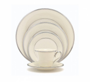 Lenox Solitaire Platinum Banded Ivory China All Purpose Bowl
