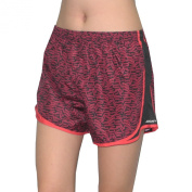 Jockey Womens Dri-Fit Running / Sports Shorts with Built-In Panty