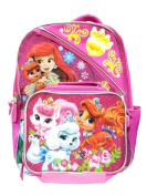Disney Princess Palace Pets Backpack with Lunch Bag - 41cm