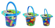 Adriatic 20 x 17 cm Home Toys Bucket with Bricks