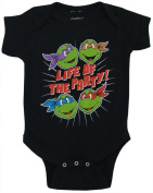 TMNT Life of the Party TV Show Mighty Fine Baby Creeper Romper Snapsuit