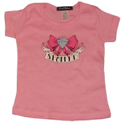 Spoiled Diamond Bow Tiny T-Shirt Toddler Tee