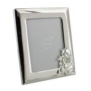 Disney Christening Silver Plated Winnie The Pooh Bear Photo Frame