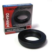 Opteka T-Mount Adapter for Nikon D3, D3S, D3X, D40, D40x, D50, D60, D70, D80, D90, D100, D200, D300, D300S, D700, D3000, D3100, D5000, D5100 and D7000 Digital SLR Cameras