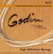 Godin Guitars 009350 Nylon Classical Strings, Medium
