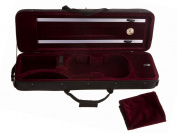 D'Luca VCM-200 Oblong Full Size Violin Case With Hygrometer