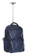 ROLLING COMPUTER BACKPACK - NAVY