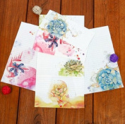 30 Cute Kawaii Lovely Design Writing Stationery Paper Letter Set with 15 Envelope