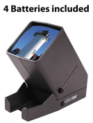 DC & Co. Medalight 35mm Film LED Slide and Negative Viewer with Four FREE Batteries