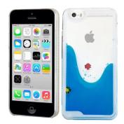Liquid Water Case Cover For Apple iPhone 5C Blue Fish