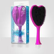 Tangle Angel Hair Brush, Xtreme Fuchsia/Black