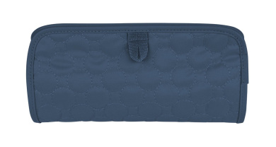 Travelon Jewellery and Cosmetic Clutch Quilted, Steel Blue Quilted, One Size