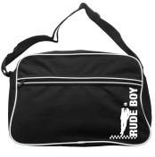 Leaning Rude Boy Messenger Bag Ska 2 Tone Specials Madness FREE UK Postage