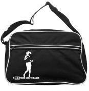 Ask A Rude Girl To Dance Messenger Bag Ska 2 Tone Specials Madness FREE UK Postage