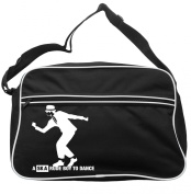 Ask A Rude Boy To Dance Messenger Bag Ska 2 Tone Specials Madness FREE UK Postage