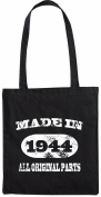 Mister Merchandise Tote Bag Made in 1944 All Original Parts 71 72 Geburtstag Shopper Shopping , Colour