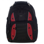 Targus TSB23803EU Drifter Laptop Computer Backpack fits 41cm laptops, Black/Red