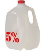 RICH PIANA 5% NUTRITION JUG RED 3.78 Litres