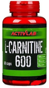 L-Carnitine 600 - 60 caps by Activlab mm