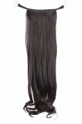 MapofBeauty Synthetic Black Hair Extensions Hairpiece