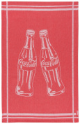 Coca Cola Presented by Now Designs Dishtowel, Bottle Rocket Jacquard