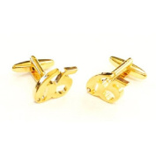 Gold Plated 65 Quality Cufflinks Gift Set Crystal Decoration Cuff Links New
