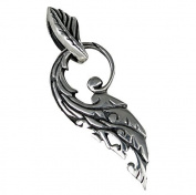 Phoenix Feather Pendant from 925 Silver