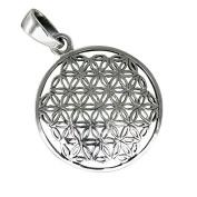 Flower of Life Pendant 925 Silver