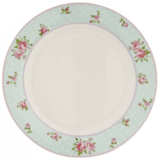 EHFP Clayre & Eef - English High Tea - Dinner plate - Porcelain - Flowers ca. 26cm