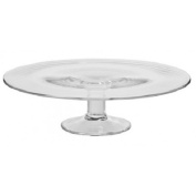 Solavia Handmade Glass Footed Cake Stand 30/11 cm high wedding cake cookies