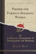 Primer for Foreign-Speaking Women, Vol. 1